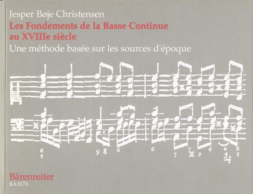 Christensen - Los fundamentos del bajo continuo en el siglo XVIII - Partition - di-arezzo.es