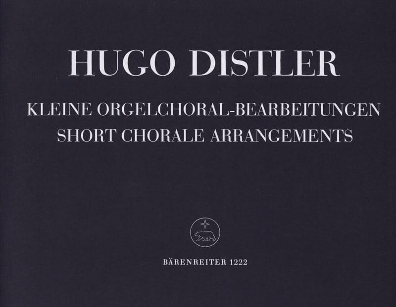 7 Kleine Orgelchoralbearbeitungen 1938 Op. 8-3 - laflutedepan.com