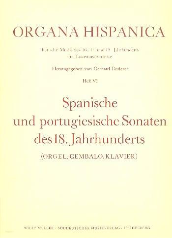 8 Spanische Und Portugisische Sonaten des 18. Jahrhunderts - laflutedepan.com