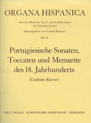 9 Portugiesische Sonaten, Toccaten Und Menuette des 18. Jahrhunderts - laflutedepan.com