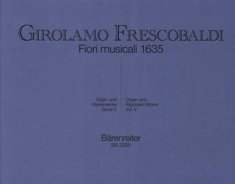 Girolamo Frescobaldi - Orgel Und Klavierwerke. Band 5 - Partition - di-arezzo.com