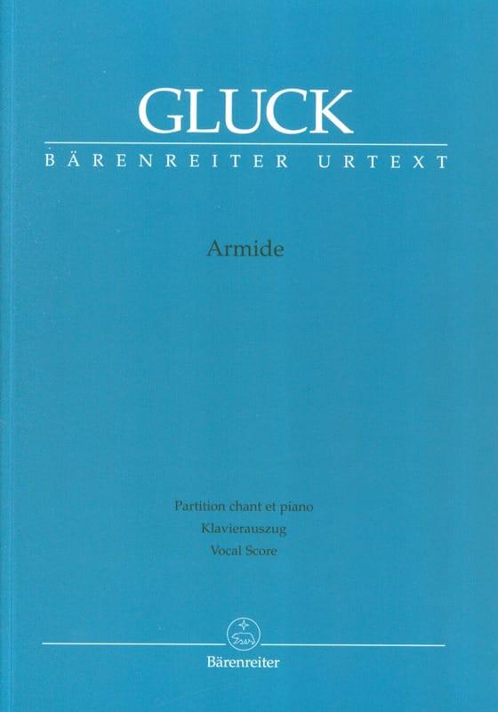 GLUCK - Armide - Partition - di-arezzo.fr