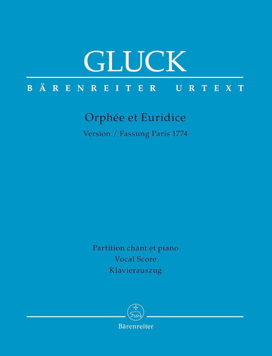 Orphée et Euridice - GLUCK - Partition - Opéras - laflutedepan.com