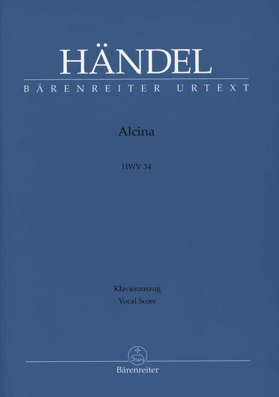 HAENDEL - Alcina - Partition - di-arezzo.co.uk