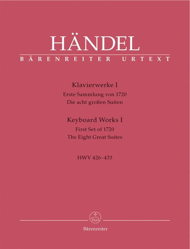 HAENDEL - Work for Piano Volume 1 - Partition - di-arezzo.co.uk