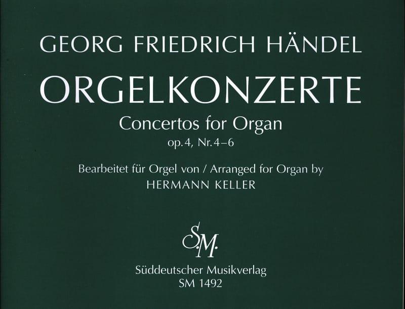 HAENDEL - Concertos Opus 4 Volume 2 - Partition - di-arezzo.fr