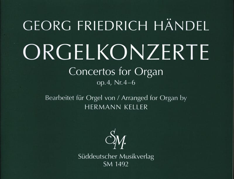 Concertos Opus 4 Volume 2 - HAENDEL - Partition - laflutedepan.com