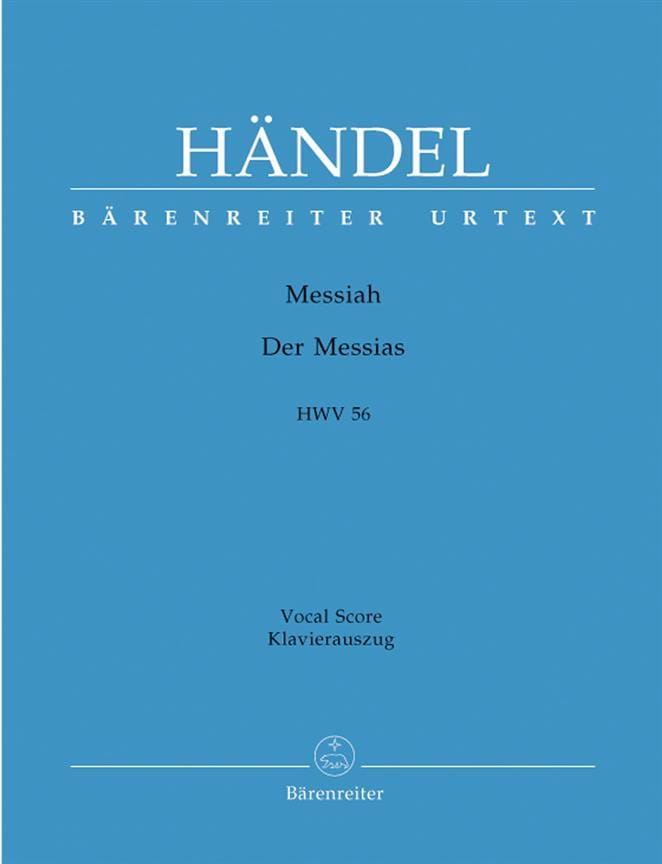 HAENDEL - Messiah. German version - Partition - di-arezzo.co.uk