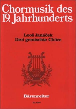 3 Gemischte Chöre - JANACEK - Partition - Chœur - laflutedepan.com