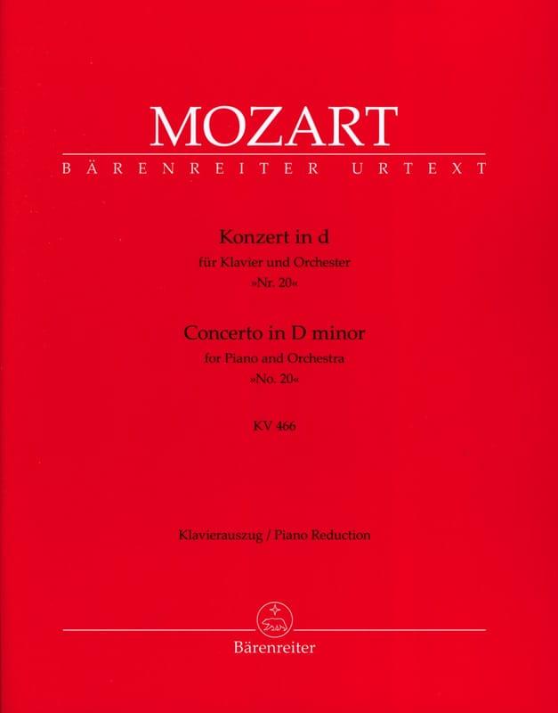 Concerto pour Piano n° 20 en ré mineur KV 466 - laflutedepan.com