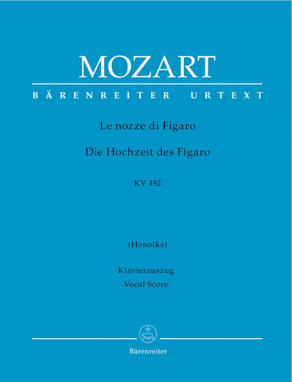 MOZART - The Nozze Di Figaro K 492 - Partition - di-arezzo.co.uk