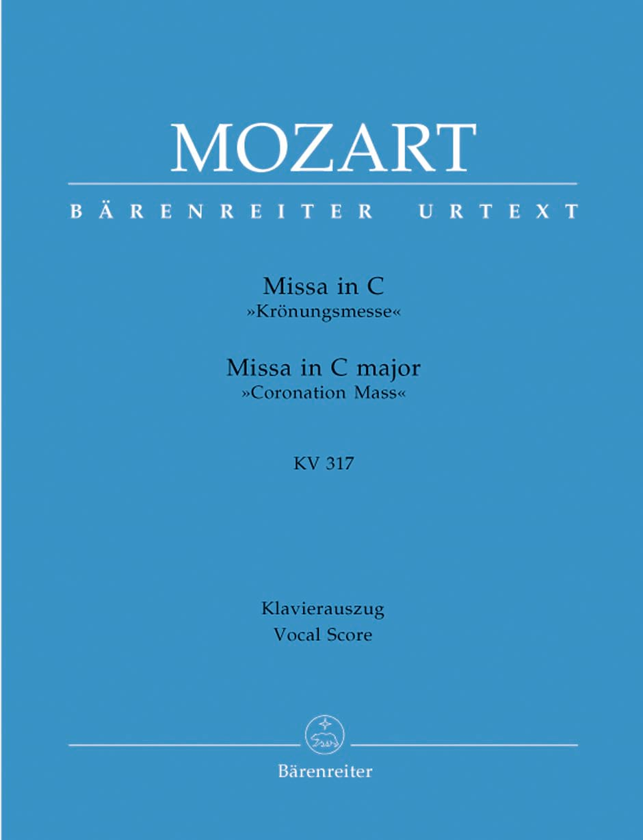 MOZART - Krönungsmesse. KV 317 - Partition - di-arezzo.co.uk