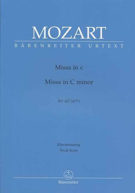 MOZART - Great Mass in C minor K 427 417a - Partition - di-arezzo.com