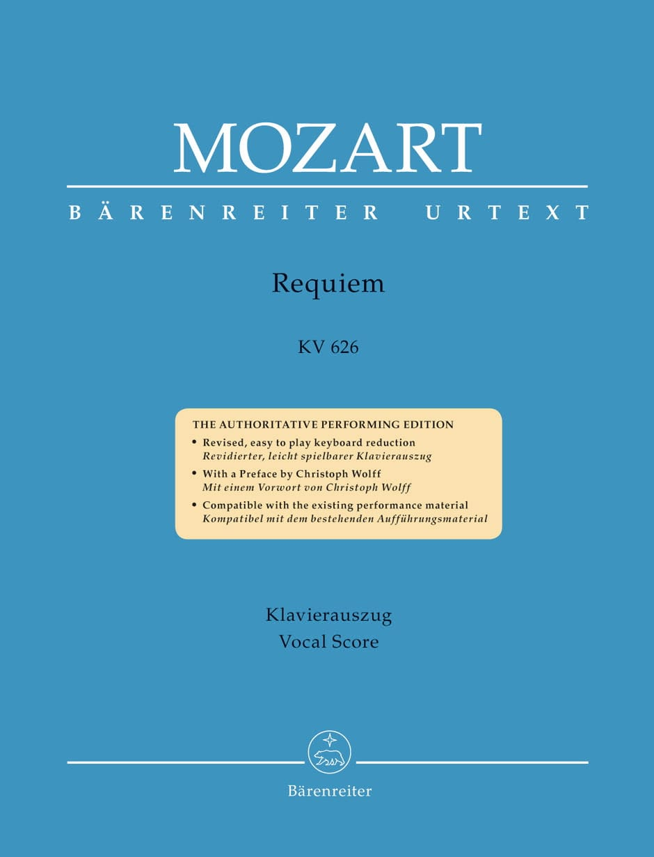 MOZART - Requiem - Partition - di-arezzo.co.uk