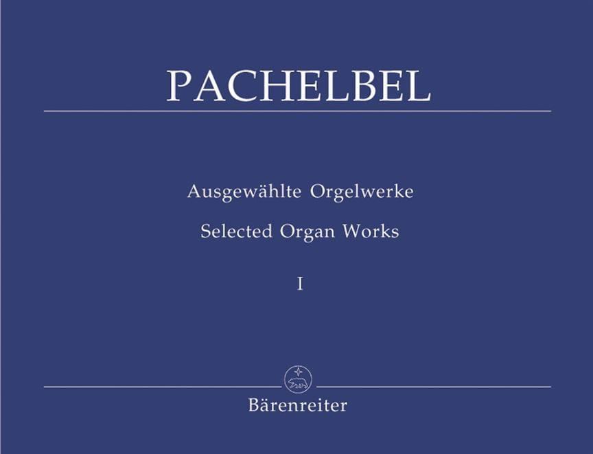 Johann Pachelbel - Work for Organ Volume 1 - Partition - di-arezzo.com