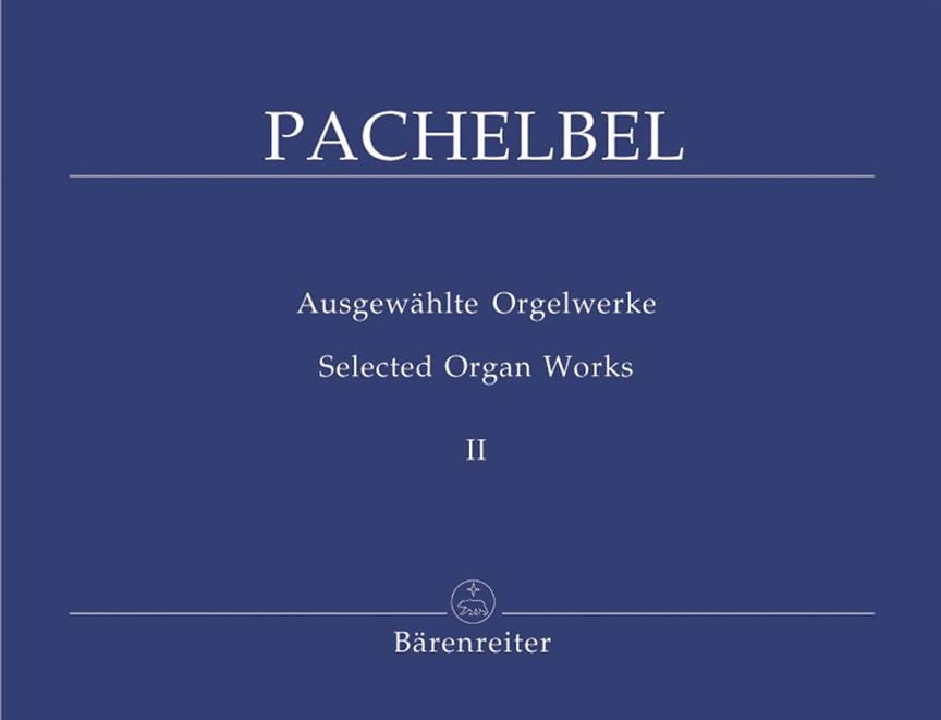 Johann Pachelbel - Organ Works Volume 2 - Partition - di-arezzo.com