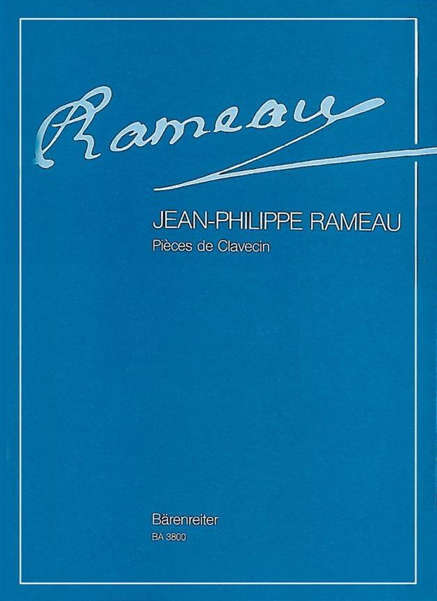 Jean-Philippe Rameau - Pieces of the Complete Harpsichord - Partition - di-arezzo.co.uk
