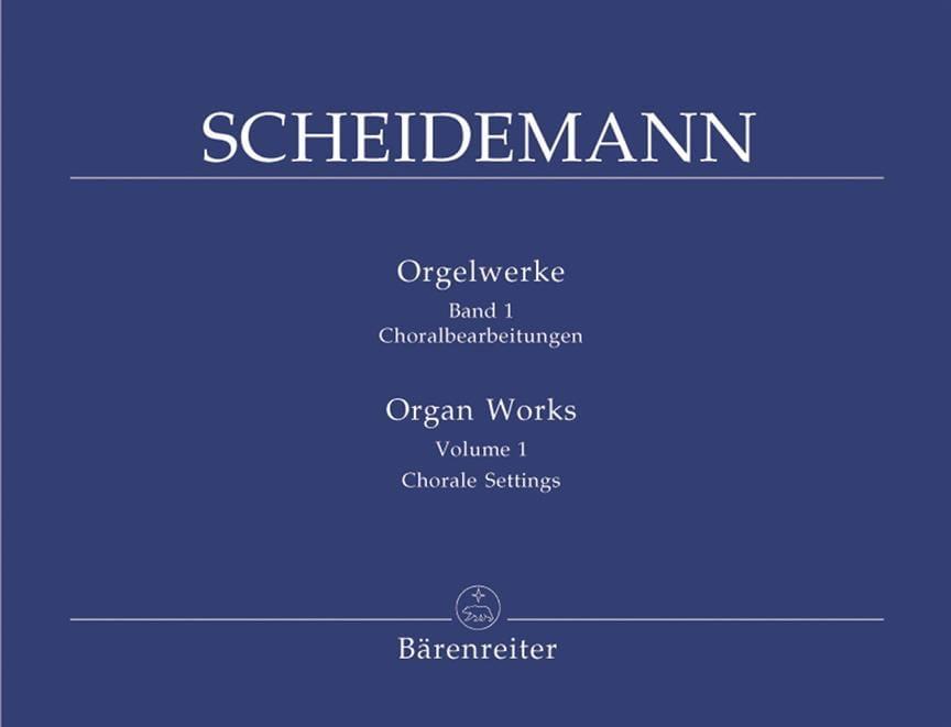 Oeuvre pour Orgue Volume 1 - Heinrich Scheidemann - laflutedepan.com