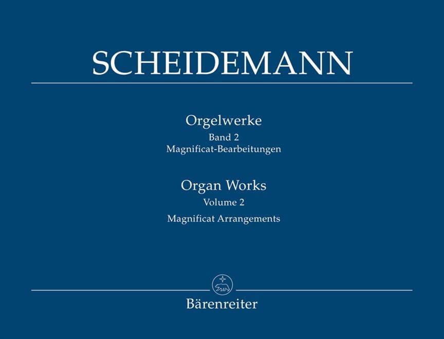 Heinrich Scheidemann - Oeuvre Pour Orgue Volume 2 - Partition - di-arezzo.fr