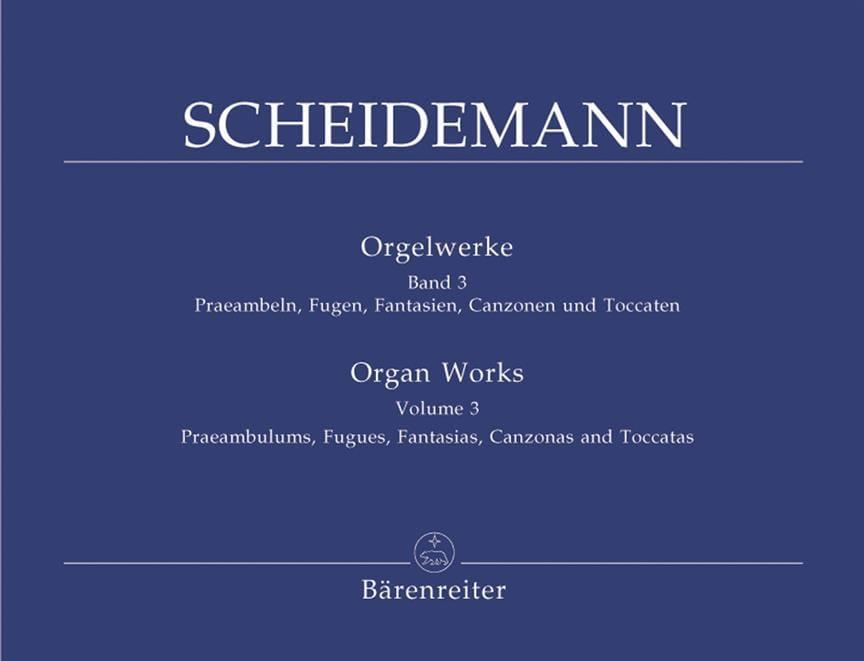 Oeuvre Pour Orgue Volume 3 - Heinrich Scheidemann - laflutedepan.com