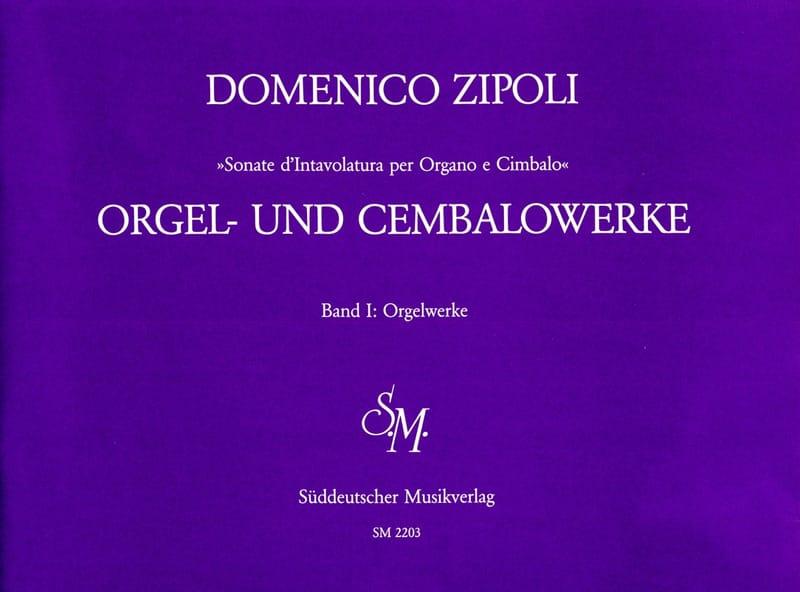 Orgelwerke Volume 1 - Domenico Zipoli - Partition - laflutedepan.com