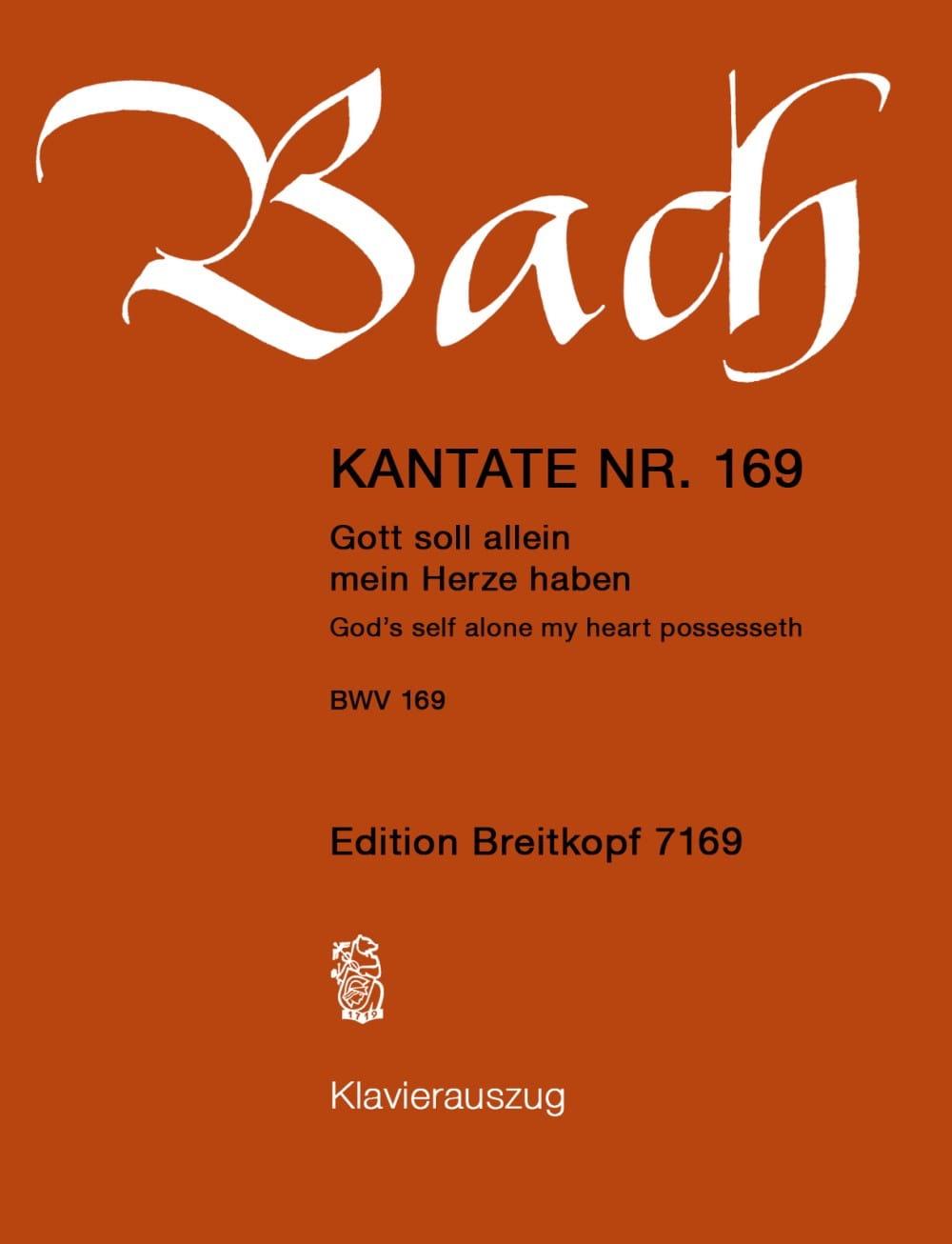 Cantate 169 Gott Soll Allein Mein Herze Haben - laflutedepan.com