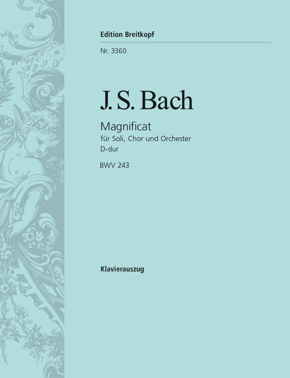 BACH - Magnificat In D Major BWV 243 - Partition - di-arezzo.co.uk