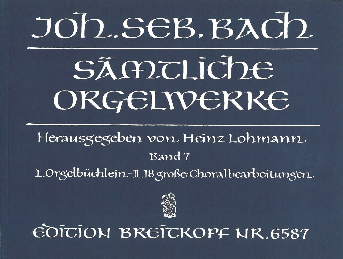 BACH - Sämtliche Orgelwerke Volume 7 - Partition - di-arezzo.co.uk