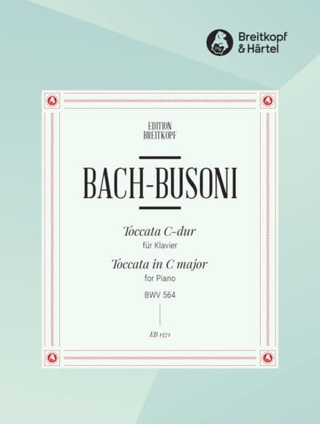 Bach Jean-Sébastien / Busoni Ferruccio - Toccata do major BWV 564 - Partition - di-arezzo.co.uk