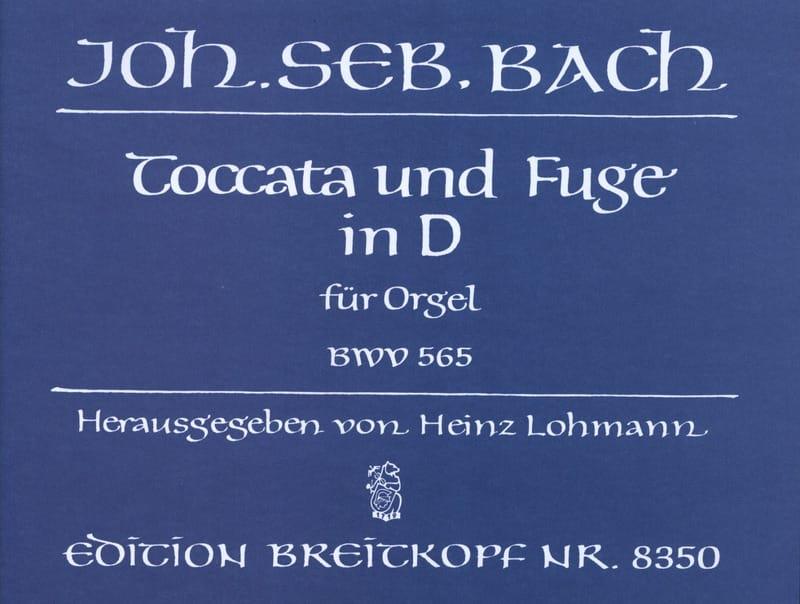 Toccata et Fugue Ré Mineur BWV 565 - BACH - laflutedepan.com