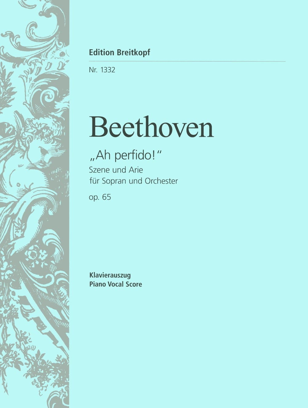 BEETHOVEN - Ah! Perfido Opus 65 - Partition - di-arezzo.co.uk