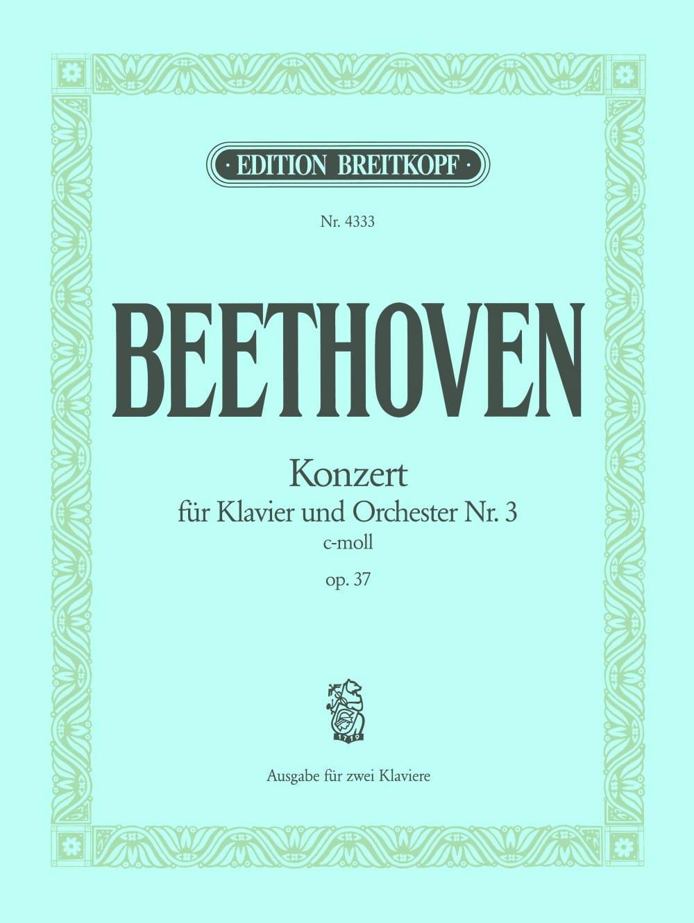 Concerto pour Piano N° 3 Opus 37 En Do Mineur - laflutedepan.com