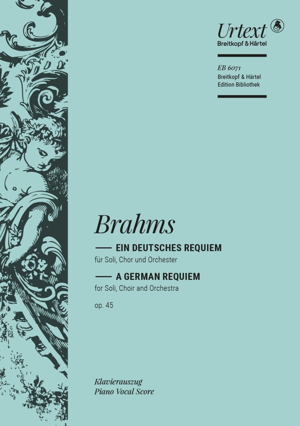 BRAHMS - Ein Deutsches Requiem Opus 45 - Partition - di-arezzo.co.uk