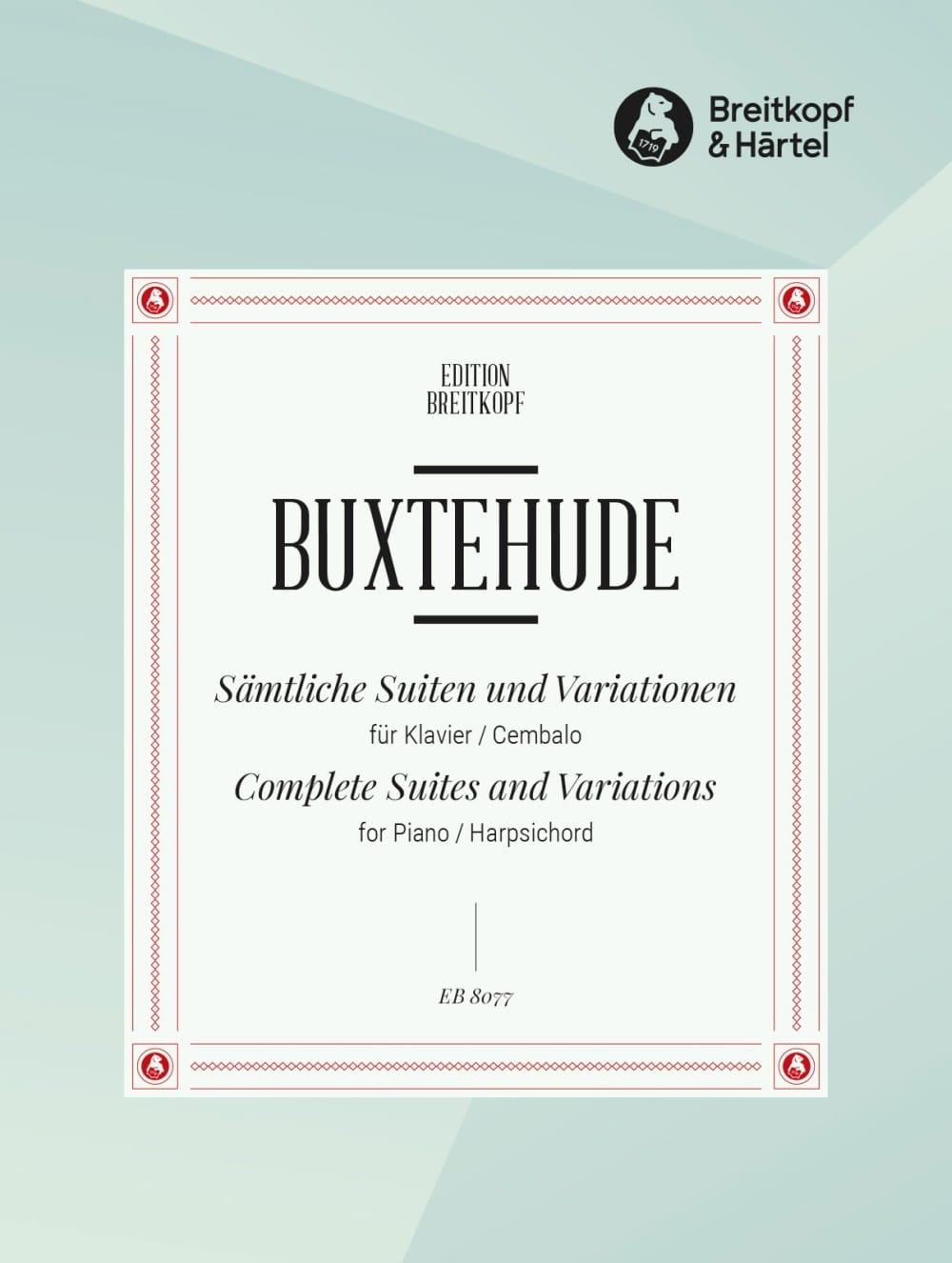 Sämtliche Suiten und Variationen Prakt. - BUXTEHUDE - laflutedepan.com