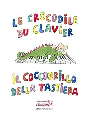 - The Keyboard Crocodile - Partition - di-arezzo.com