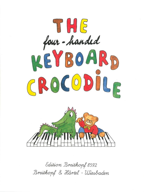 - 4-Handed Krokodil-Tastatur. 4 Hände - Partition - di-arezzo.de