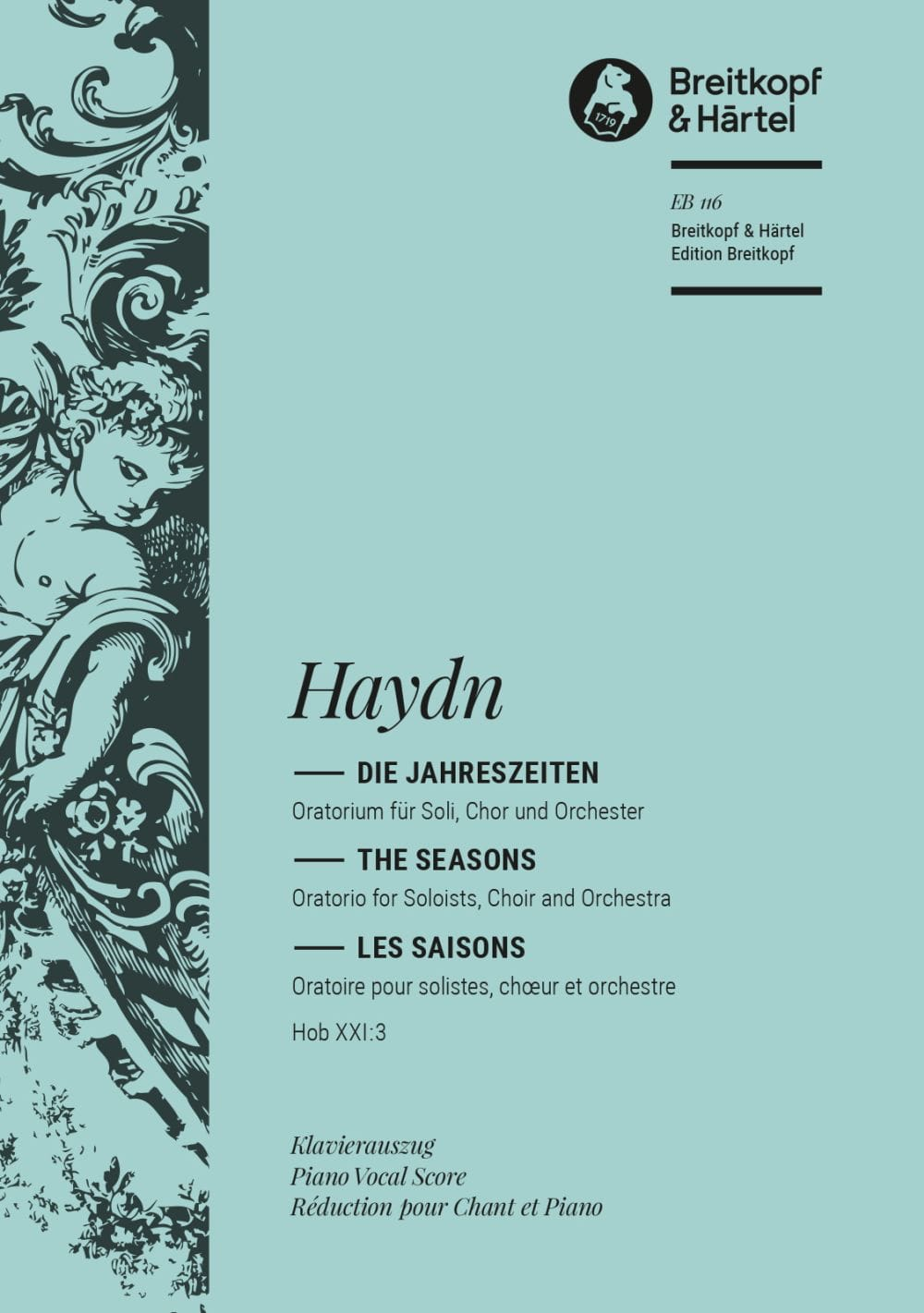 HAYDN - Seasons - Partition - di-arezzo.co.uk