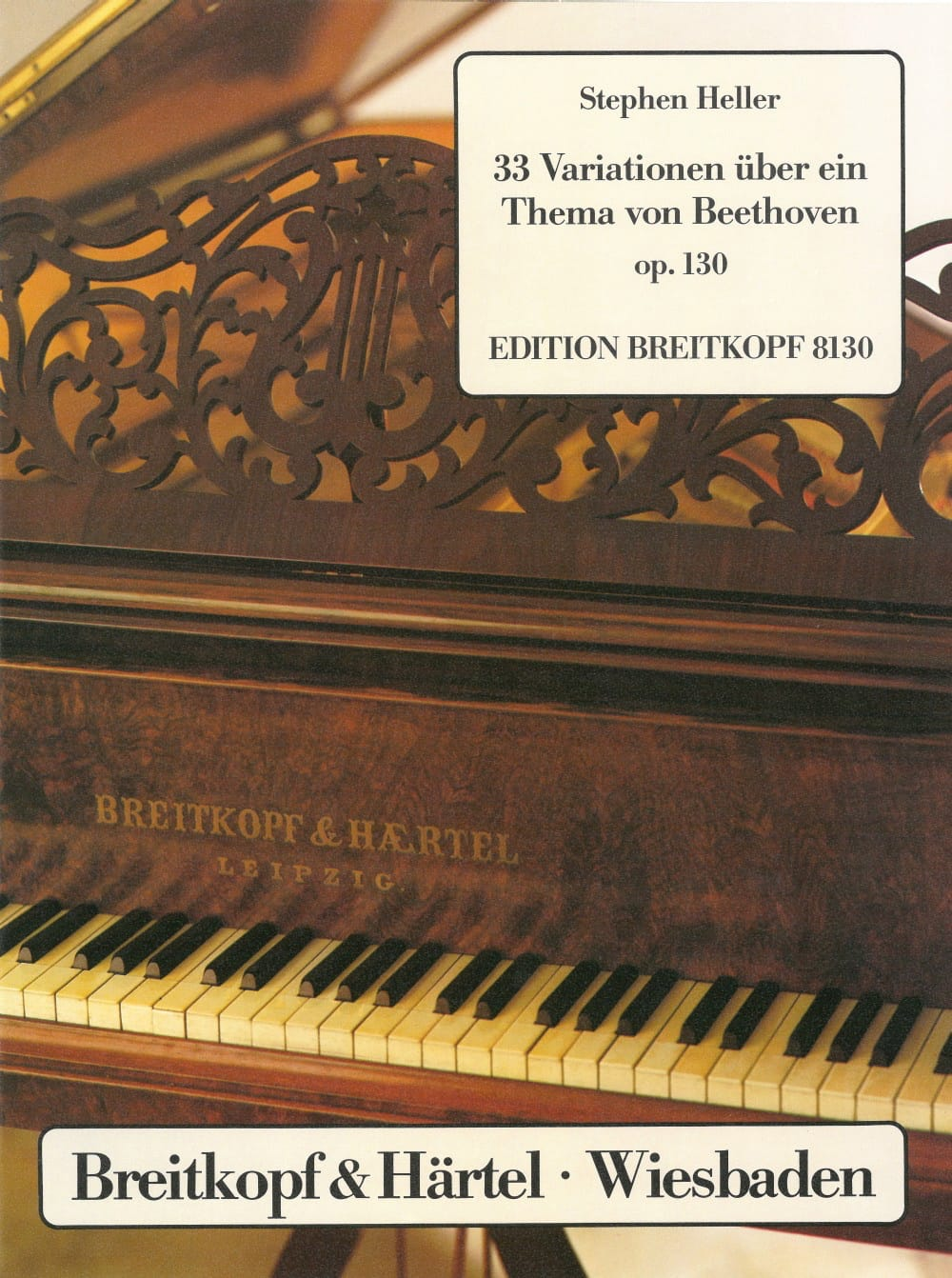 Stephen Heller - 33 Variations on a Beethoven Theme - Partition - di-arezzo.co.uk