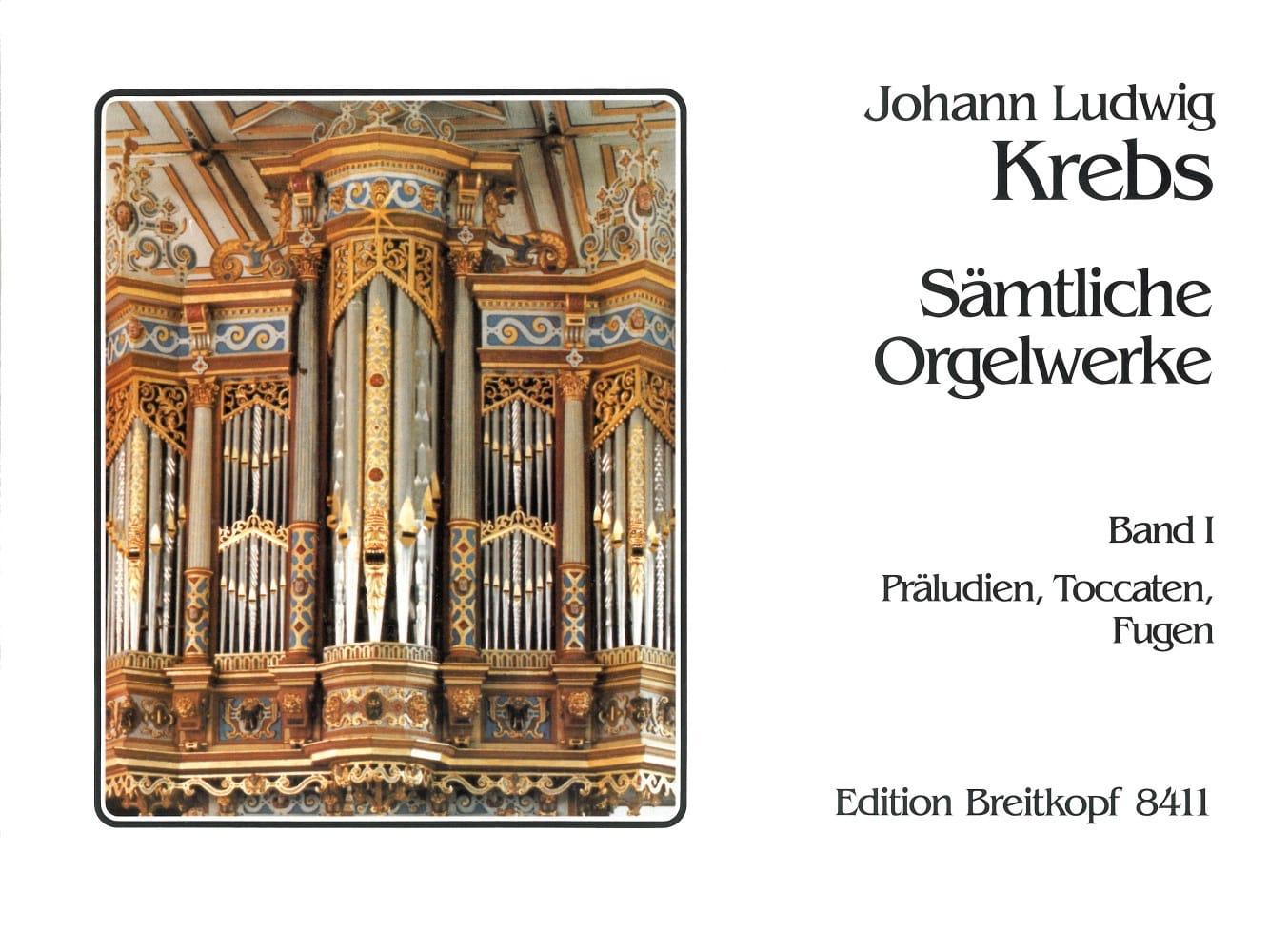 Sämtliche Orgelwerke Volume 1 - Johann Ludwig Krebs - laflutedepan.com