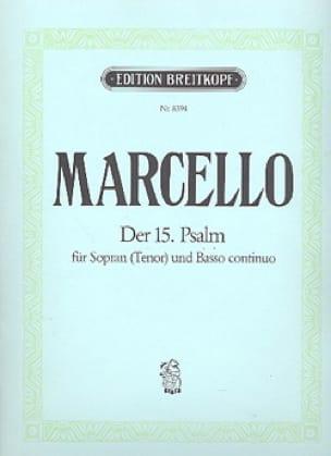 Psaume 15. - Benedetto Marcello - Partition - laflutedepan.com
