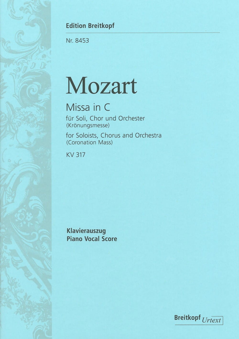 MOZART - Coronation Mass - Partition - di-arezzo.co.uk