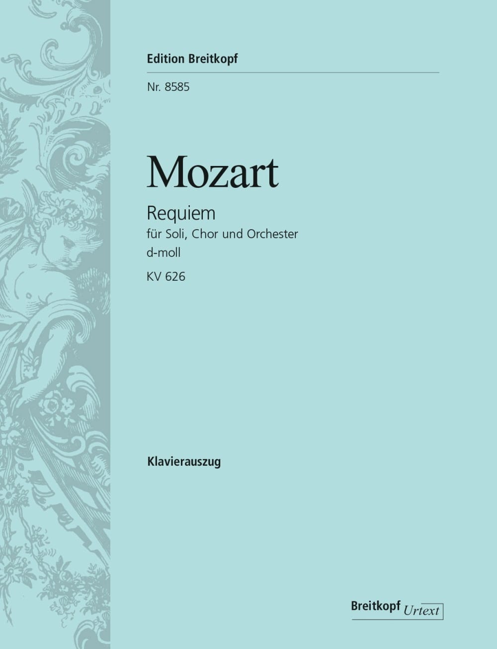 MOZART - Requiem - Partition - di-arezzo.com