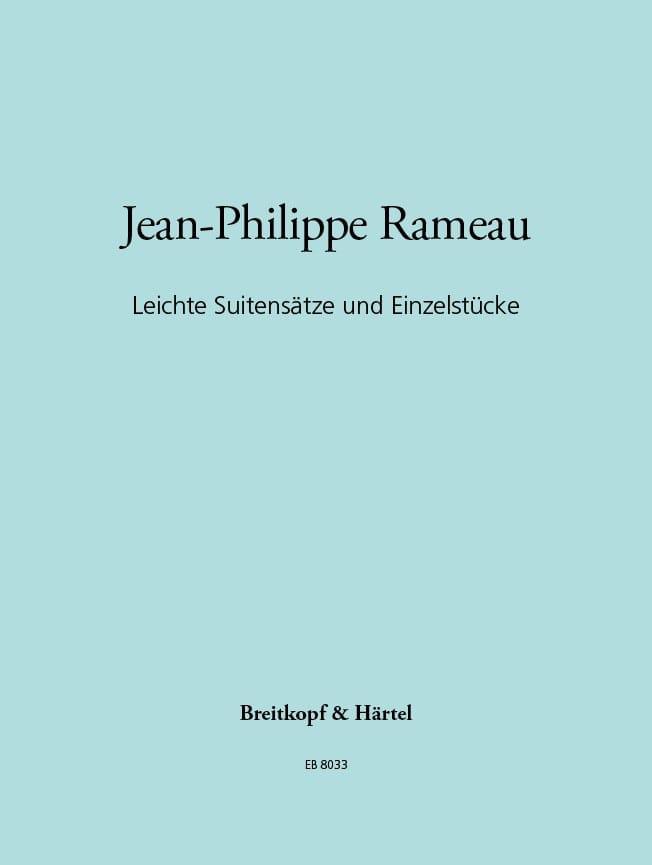 Jean-Philippe Rameau - Leichte Suitensätze - Partition - di-arezzo.co.uk