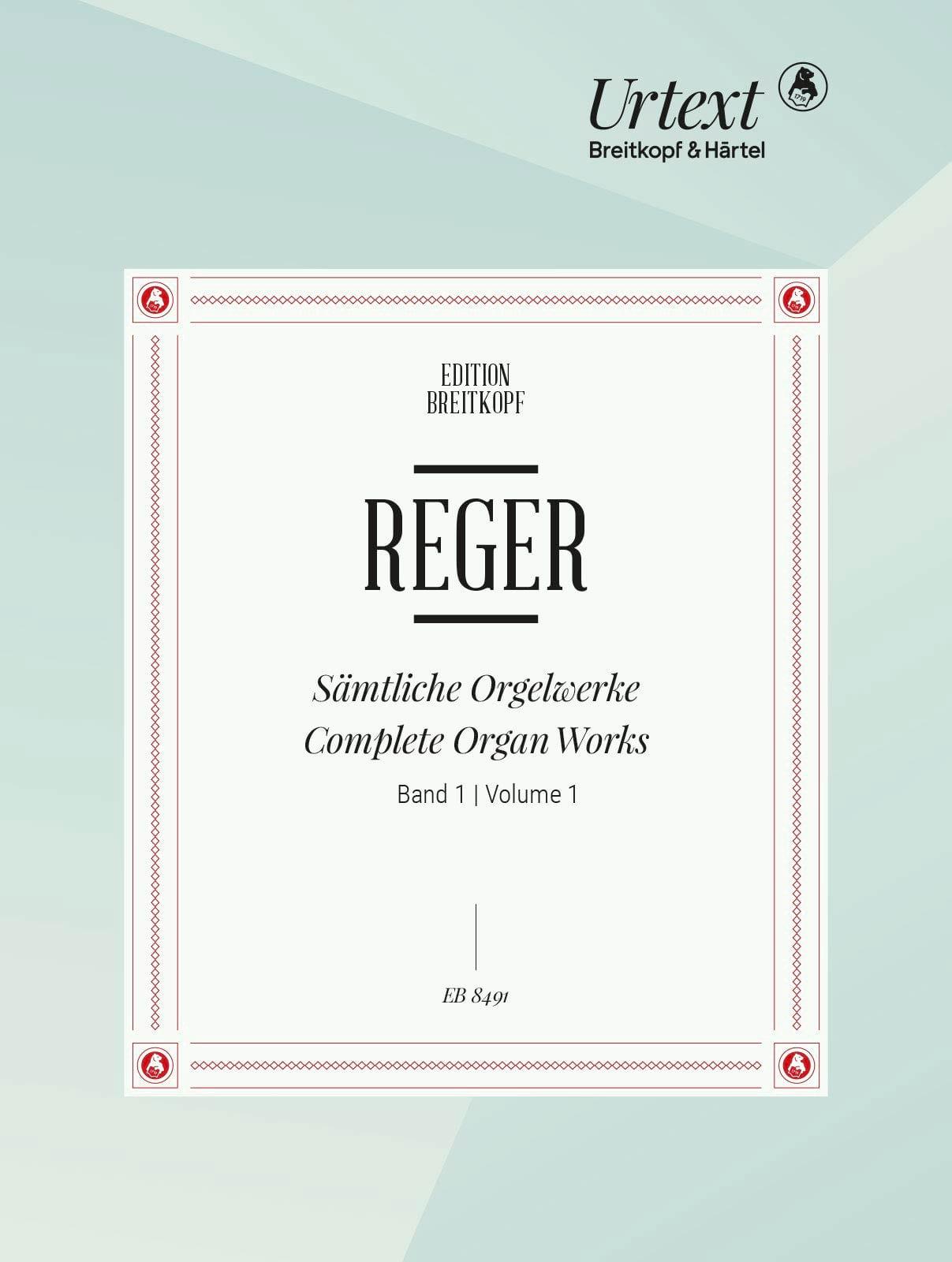 Oeuvre Pour Orgue Volume 1 - Max Reger - Partition - laflutedepan.com