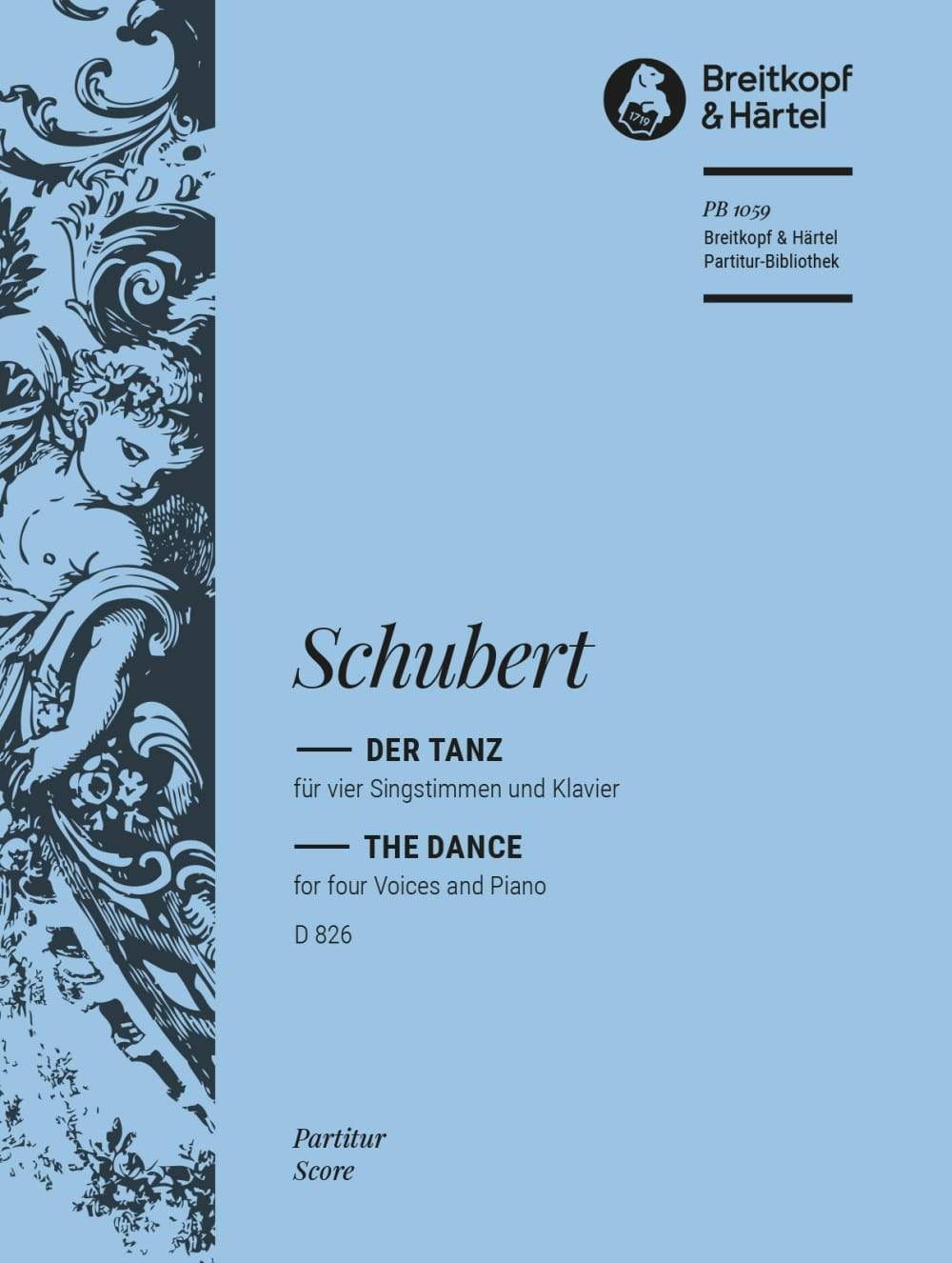 SCHUBERT - Der Tanz D 826 - Partition - di-arezzo.co.uk