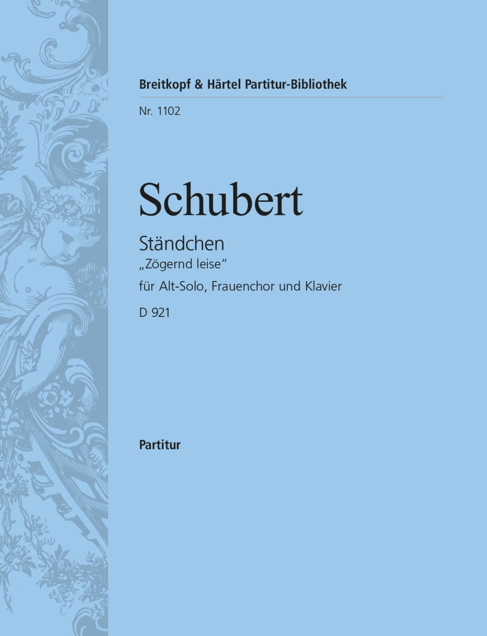 SCHUBERT - Ständchen - Partition - di-arezzo.co.uk