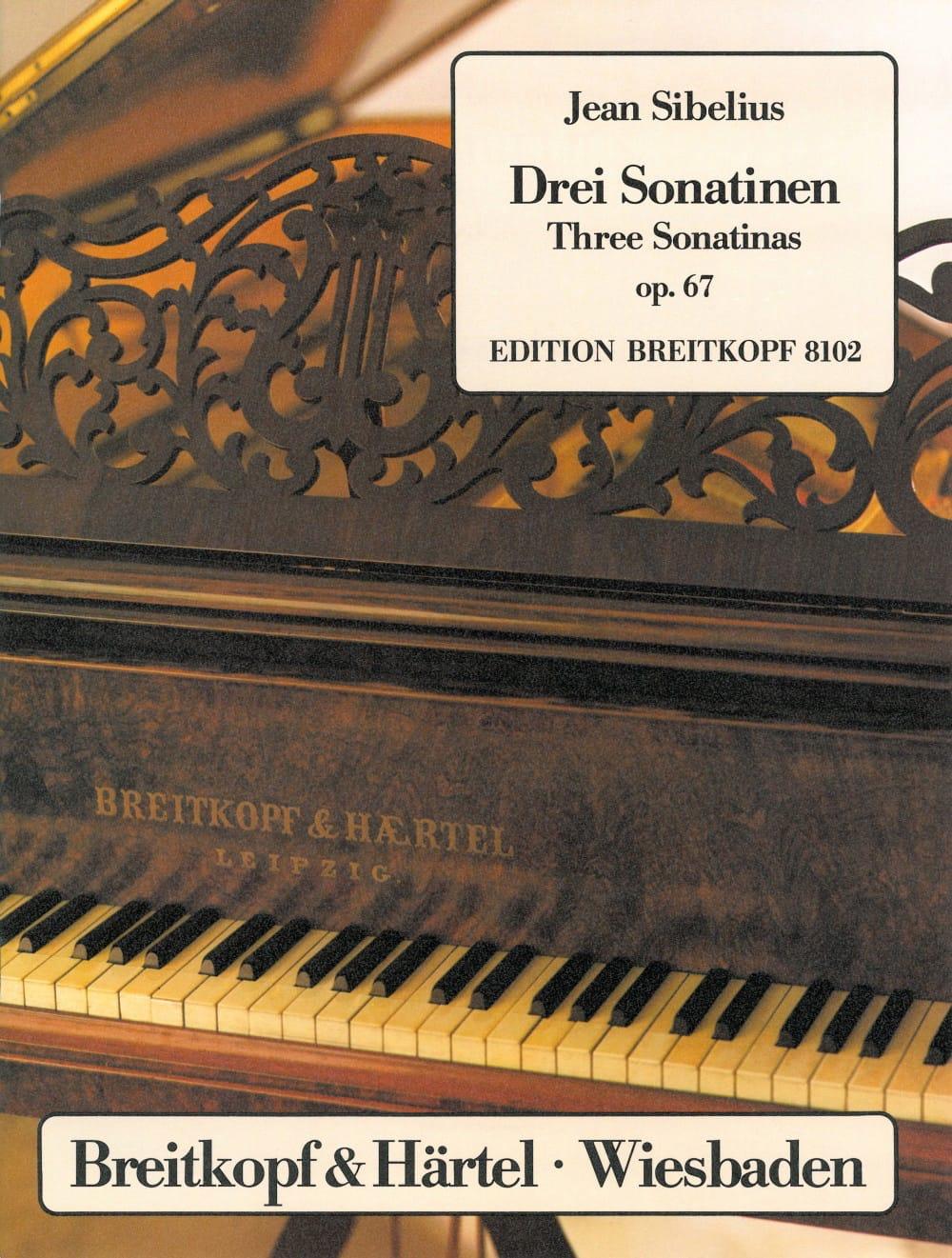 Jean Sibelius - 3 Sonatines Opus 67 - Partition - di-arezzo.com