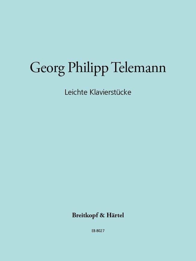 TELEMANN - Leichte Klavierstücke - Partition - di-arezzo.it