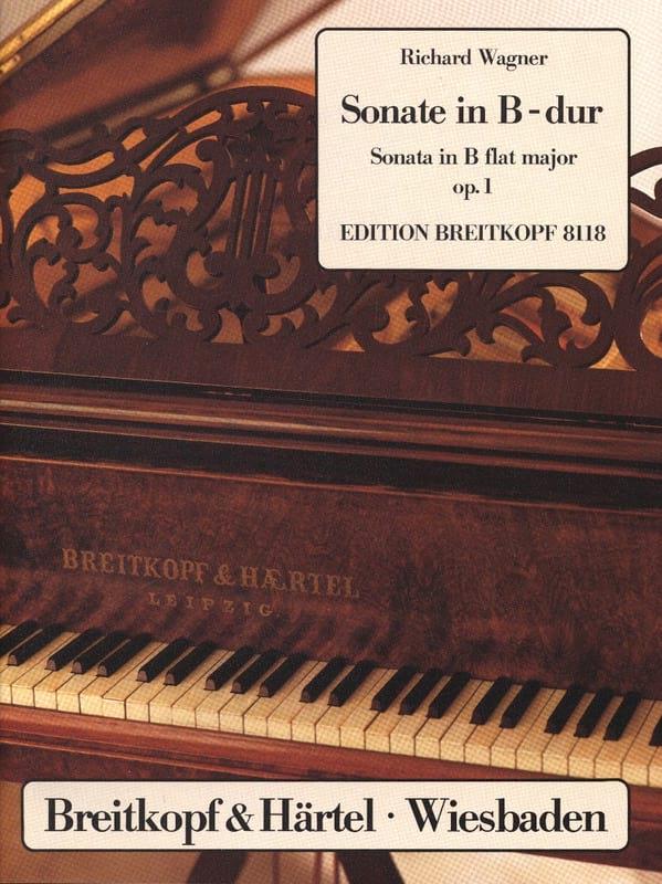 Richard Wagner - Sonata B Flat Major Op. 1 - Partition - di-arezzo.co.uk