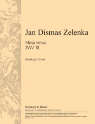 Jan Dismas Zelenka - Missa votiva in EマイナーZWV 18 - Partition - di-arezzo.jp